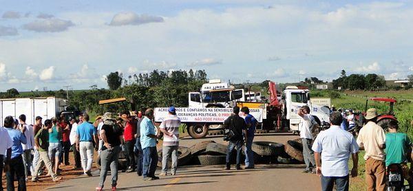 Pontes serão fechadas em Barra do Garças às quinze horas desta quarta-feira