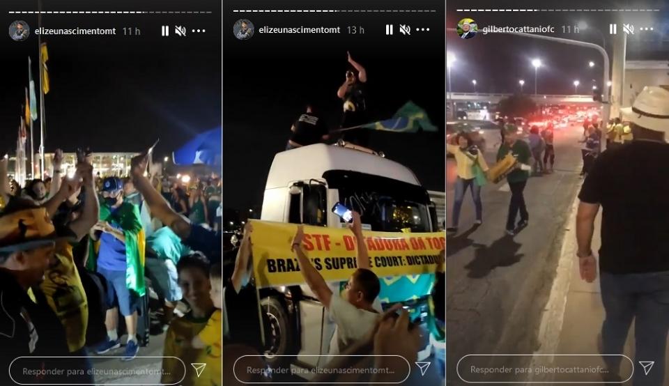 Bolsonaristas de Mato Grosso ficam acampados em Brasília e invadem Esplanada;  veja imagens