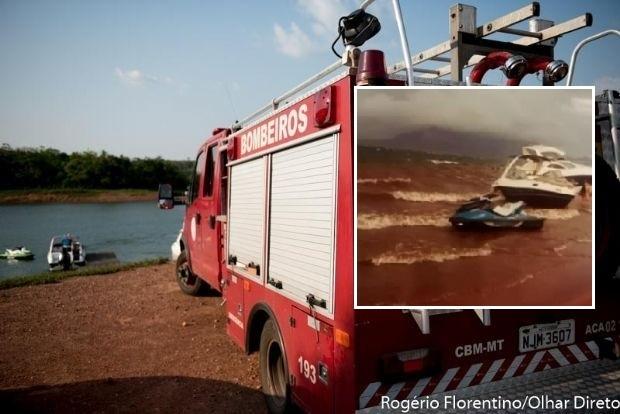 Jovem que desapareceu ao andar de 'jet ski 'é localizado após passar noite na margem do Lago do Manso