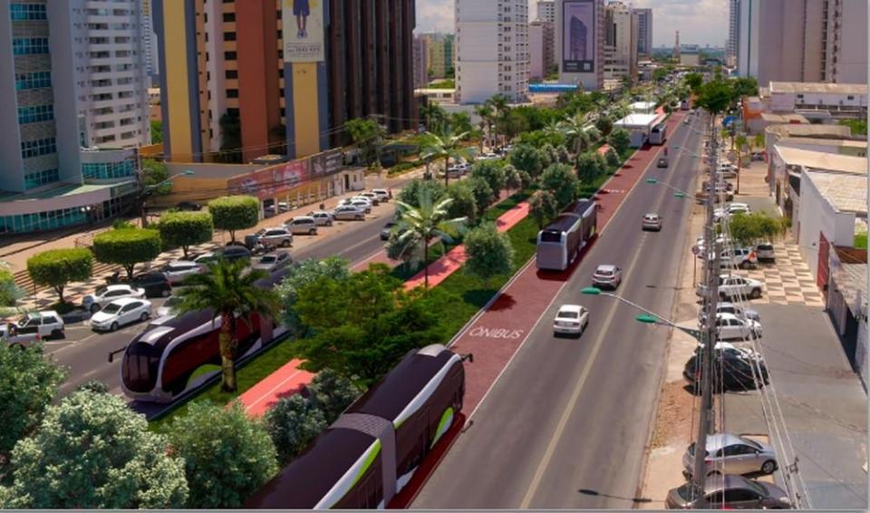 Equipe técnica comprova economicidade e viabilidade do BRT em Cuiabá e Várzea Grande