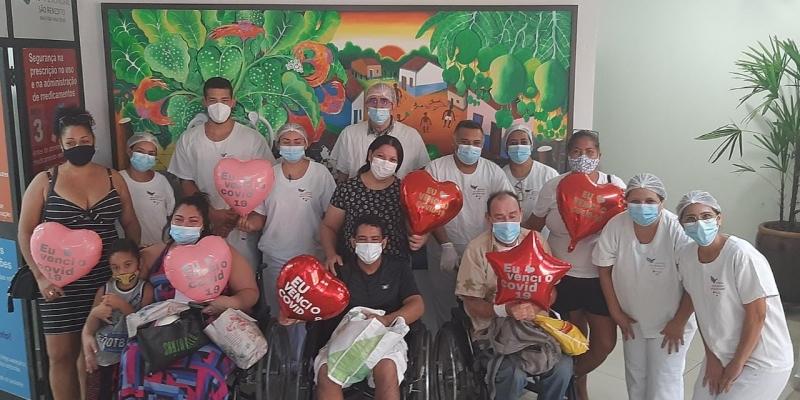 Pacientes que venceram a Covid-19