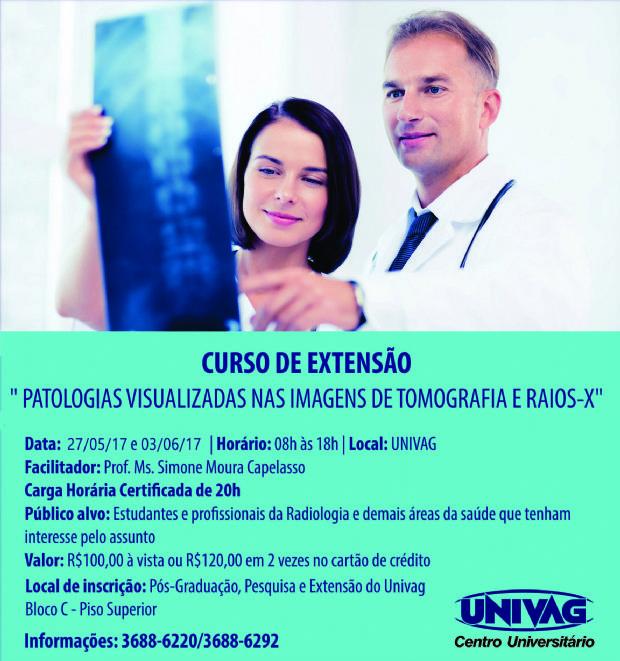 Univag realiza curso de extensão em Radiologia; inscrições ainda podem ser feitas
