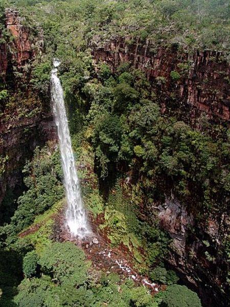Cachoeira dos Macacos - Serra Ricardo Franco