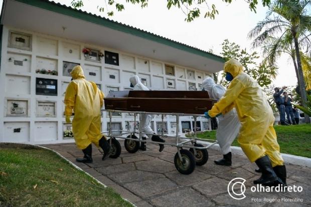Mato Grosso registra 24 novas mortes e mais 980 casos de coronavírus nas últimas 24h