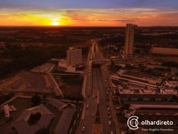 Após recorde de frio, temperaturas voltam a casa dos 40ºC em Cuiabá
