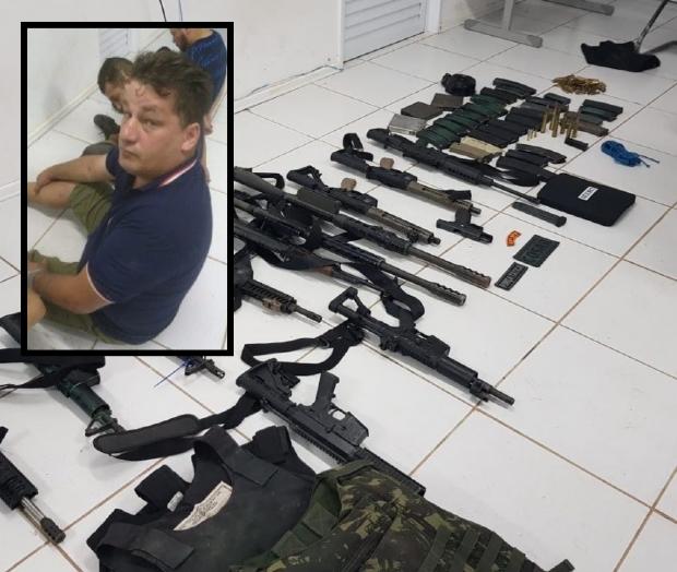 Caminhoneiro de MT é preso por ajudar em fuga de criminosos após roubo de R$ 100 milhões no MA
