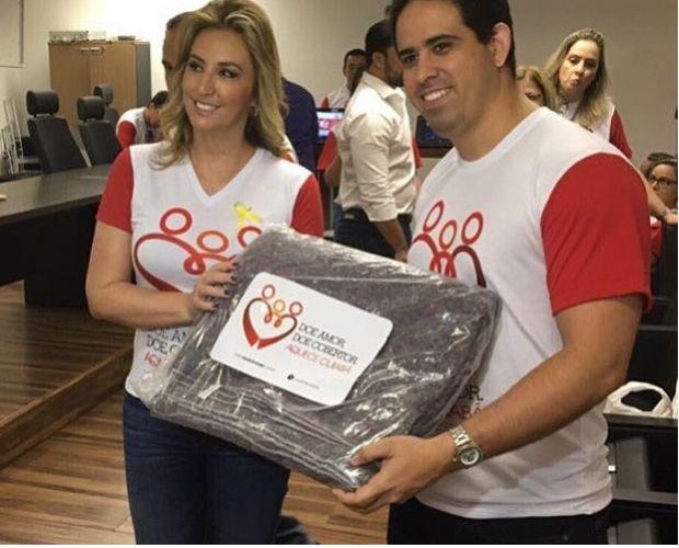 Vice-prefeito pede apoio para campanha Aquece Cuiabá que visa beneficiar mais de 600 pessoas