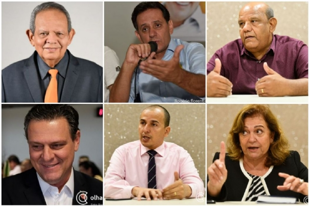 Candidatos ao Senado se enfrentam em debate ao vivo;   assista