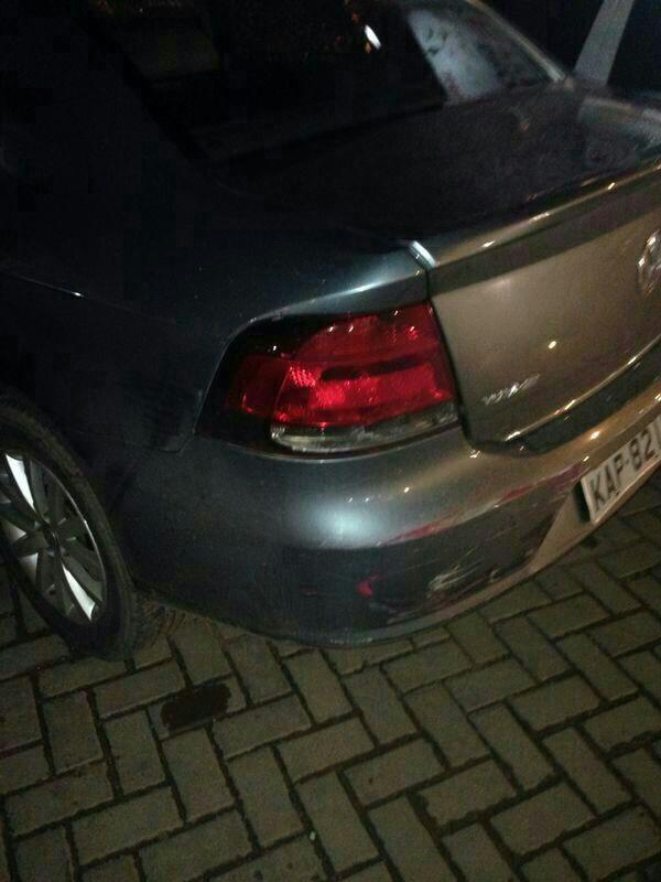 Veículo do major foi atingido pela caminhonete Ecosport