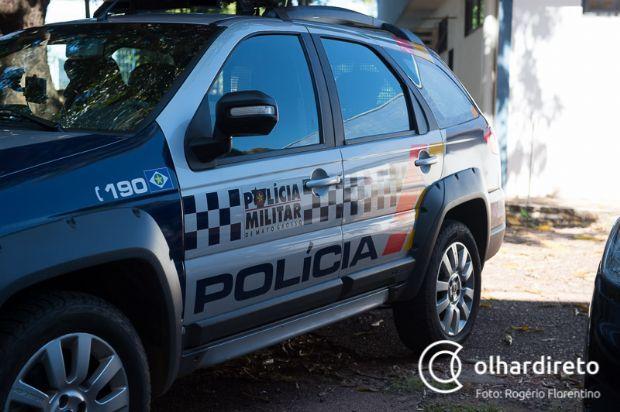 Enfurecida, mulher quebra escritório do marido e acaba detida por equipe da PM