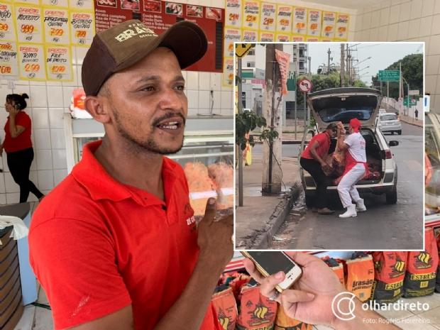 Proprietário de açougue explica foto que 'viralizou' de carne retirada de porta-malas