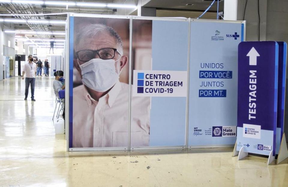 Testagem de Covid-19 na Arena Pantanal será reduzida gradativamente e responsabilidade será de prefeituras