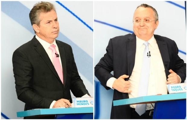 Após troca de farpas nos bastidores de debate, Mendes vê desespero de Taques com alta rejeição