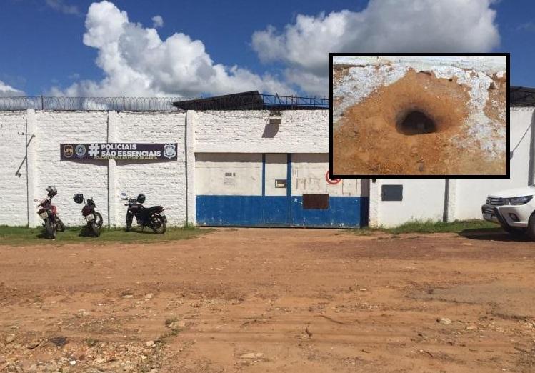 Oito presos cavam túnel e fogem de cadeia pública em Mato Grosso