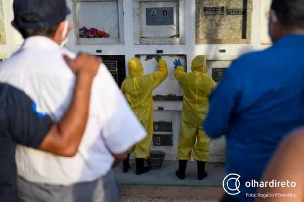 MT registra morte de jovem de 19 anos e de mais 91 pessoas por Covid-19 em 24 horas