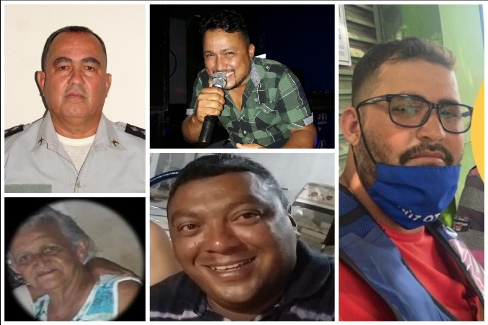 Cantor, policial militar, servidores da Educação e mototaxista morrem vítimas da Covid-19