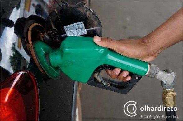 Aumento na gasolina