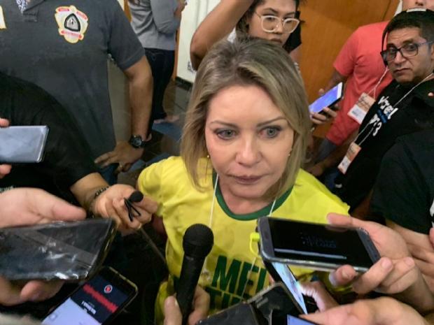Selma chama 'fake news' de canalhice e diz que foi vítima de ação maliciosa em denúncia de Caixa 2