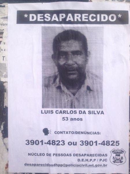 Homem de 53 está desaparecido; Polícia Civil cogita homicídio
