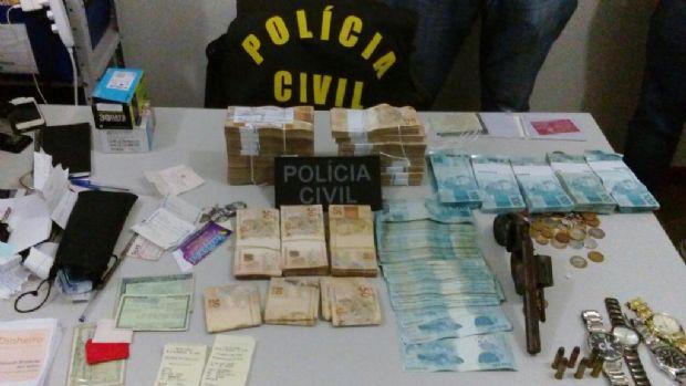 Após sequestro de família de funcionário do Banco do Brasil, polícia recupera R$ 433 mil