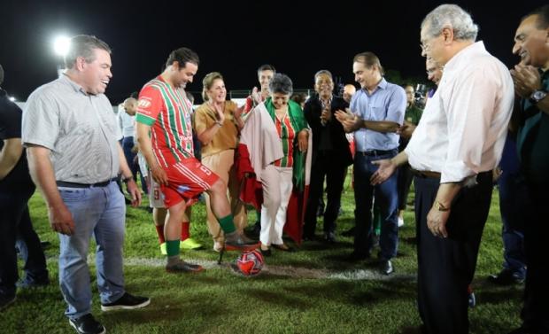 Com investimento de R$ 2 milhões, novo estádio 'Dito Souza' volta a ser palco de grandes jogos