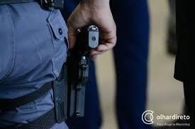 Segurança é baleado durante troca de tiros com bandidos que tentavam invadir chácara