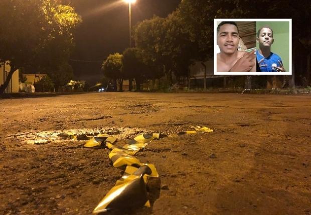 Garoto de 15 anos com mais de 50 passagens e cunhado são executados