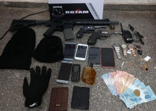 Bando invade transportadora para roubar agrotóxicos, mas acaba preso após troca de tiros