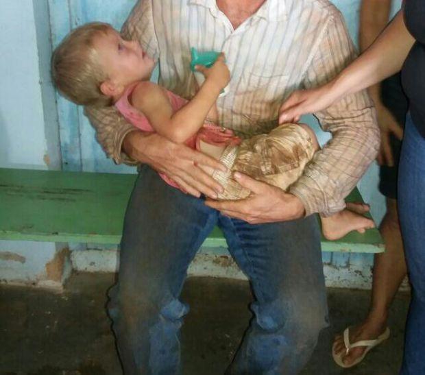 Criança de dois anos desaparece por 13 horas e passa a noite em plantação de milho
