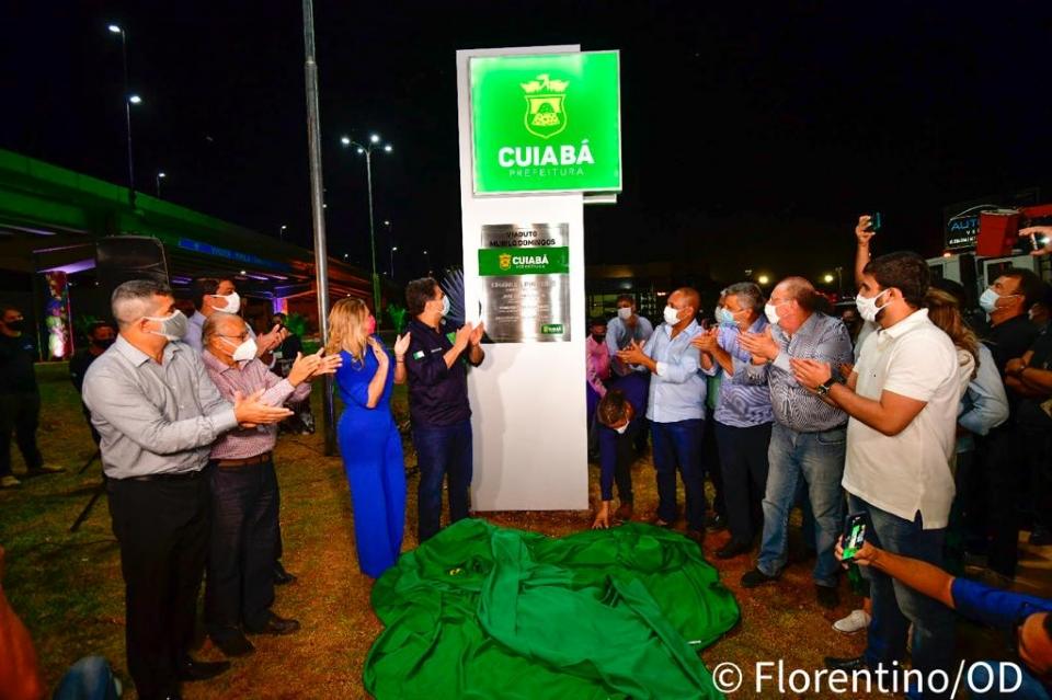 Após adiamentos, Emanuel entrega viaduto na Beira Rio com investimento de R$ 18 mi: