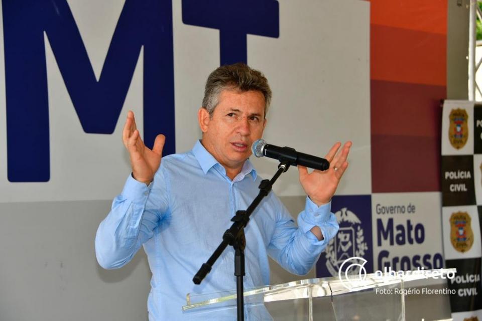 """Mauro comemora superávit de empregados e diz que """"governo aumentou a arrecadação, mas devolve a olhos vistos"""""""