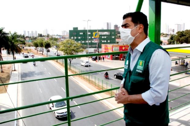 Emanuel Pinheiro diz que está aberto para tratar de hospital de campanha com governador