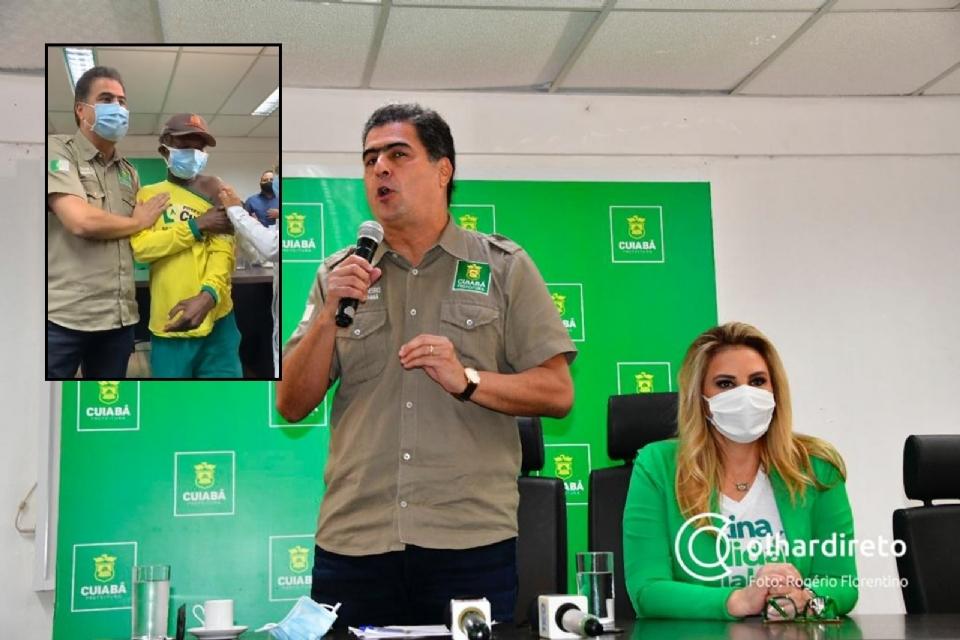 Prefeito lança vacinação de grupos 'vulneráveis': motoristas, catadores, garis, varredores e carroceiros