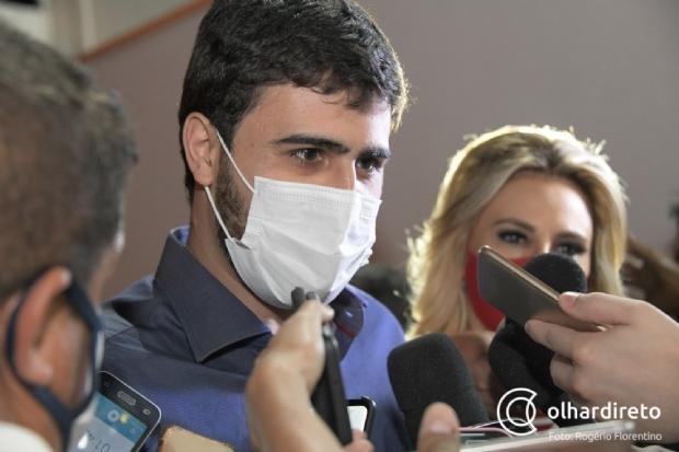 """Emanuelzinho elogia gestão do pai: """"Cuiabá é a menina dos olhos de Emanuel Pinheiro"""""""