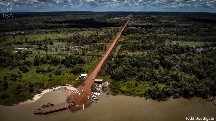 Ferrogrão deve acelerar invasão e desmatamento em terras indígenas do Xingu, aponta estudo