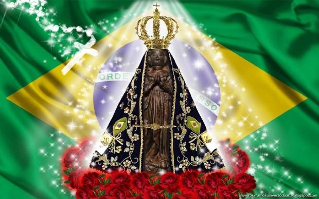 Classificação brasileira na Copa anima região norte de Cuiabá e é creditada à Nossa Senhora