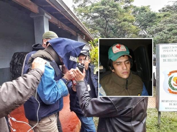 Acusado de matar universitária de MT no Paraguai alega que fugiu por medo e só falará em juízo