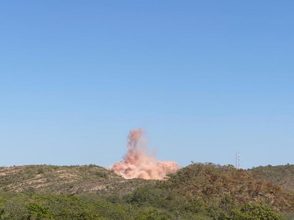 Explosão da serra