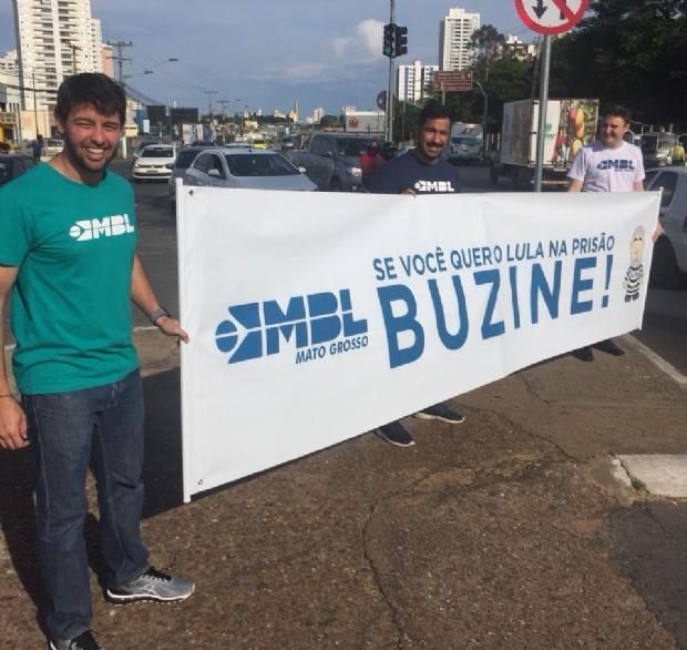 Movimentos pró e contra ex-presidente Lula começam em Cuiabá