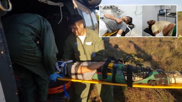Tripulantes quebraram maxilar e perna após queda de aeronave em Mato Grosso