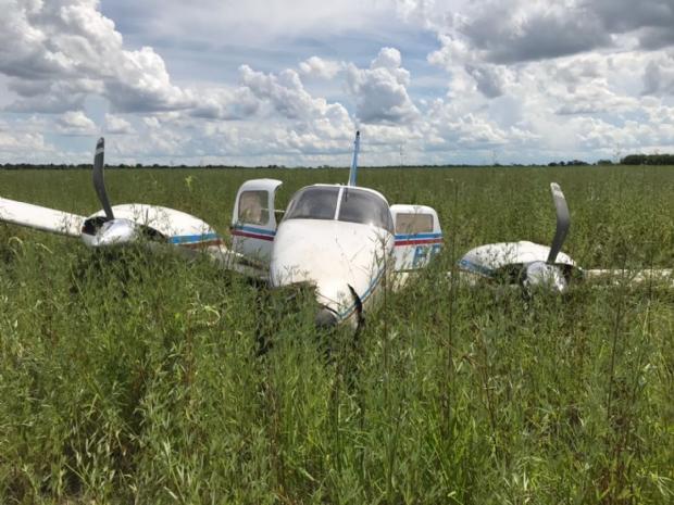 Avião com 500 kg de cocaína vindo da Bolívia é interceptado pela FAB em Mato Grosso