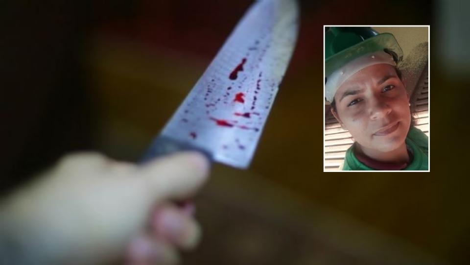 Mulher é morta pelo ex-marido com facadas em frente a bar