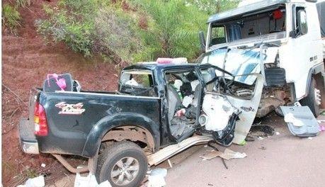 Família de Mato Grosso morre em grave acidente na BR 163 em São Gabriel do Oeste