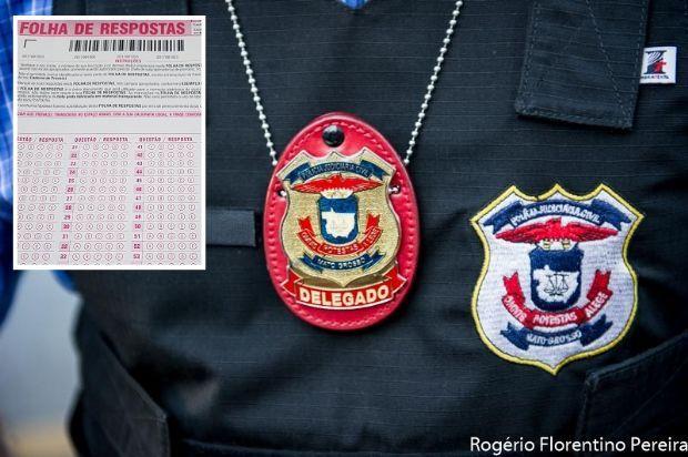 Concurso para delegado da Polícia Civil é suspenso por suspeita de fraude