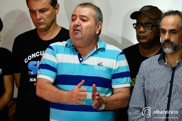 Sindicalistas cobram RGA e não descartam greve geral na semana que vem