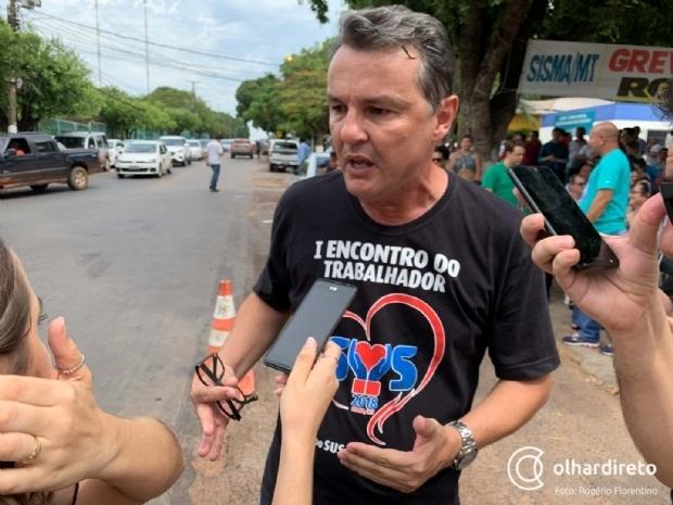Fórum Sindical pede que governador libere servidores públicos imediatamente