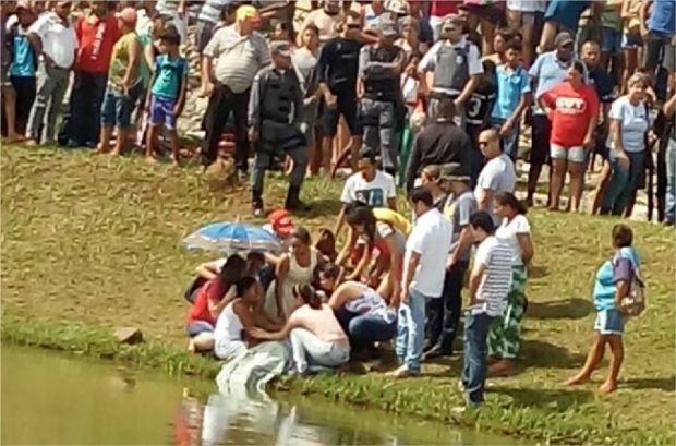 Corpo de adolescente é encontrado em lagoa e polícia suspeita de suicídio por conta de jogo