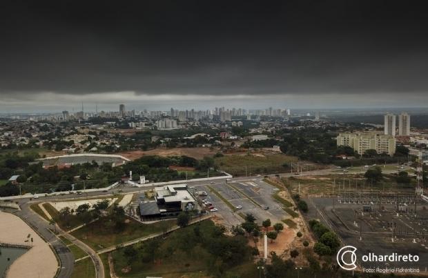 Maior frente fria do ano deve derrubar temperatura em Cuiabá nos próximos dias
