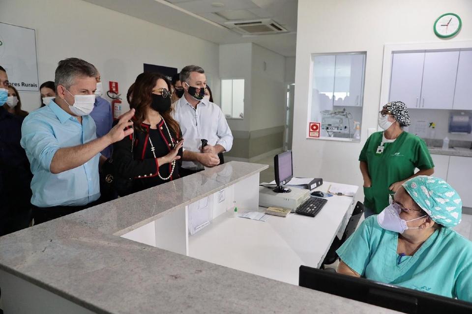 Governador anuncia convênio de R$ 11 milhões para equipar e ampliar atendimento em hospital