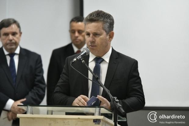 Governador Mauro Mendes assina promoção de mais de 100 policiais militares em Mato Grosso